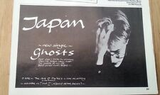 JAPAN Ghosts magazine ADVERT / Poster 8x6 inches