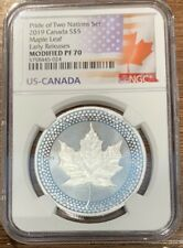 2019 Canadian Modified Maple Leaf  NGC PF70 Pride of Two Nations  Early Release