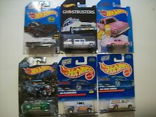 HOT WHEELS LOT OF 6 Cars The Simpsons Ghostbusters Batmobile 56 Ford Trucks