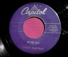 RAMBLIN' JIMMIE DOLAN - Hod Rod Race - 45 rpm - Capitol 1322