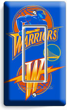 GOLDEN STATE WARRIORS BASKETBALL SINGLE GFI LIGHT SWITCH WALL PLATE BOYS BEDROOM
