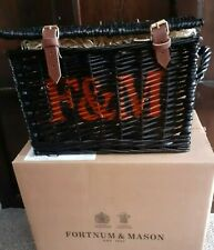 Fortnum And Mason The Wicked Wicker Halloween Black Hamper 2021 NEW contents inc