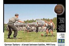 MasterBox MB35149 1/35 German Tankers A break between battles, WW II era