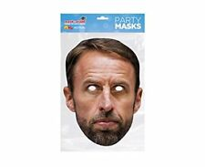 MASK-ARADE Official Licensed Gareth Southgate Card Cutout Face Mask
