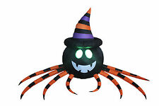 8 Foot Halloween Inflatable Yard Party Blowup Decoration Spider LED Lights Decor