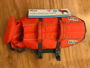Outward Hound Granby Splash Ripstop Dog Life Jacket Orange Medium