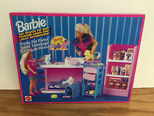 Pretty Pet Parlor BARBIE 1994 Mattel with kitty + puppy ~ Factory sealed box!