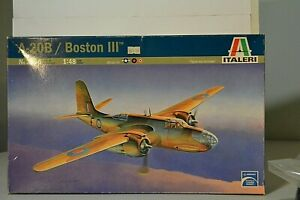 ITALER 1/48 DOUGLAS A-20B BOSTON III MEDIUM BOMBER