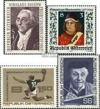 Oostenrijk 1540,1541,1542,1543 postfris 1977 Speciale postzegels