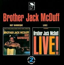 Hot Barbeque/Brother Jack McDuff Live! by Jack McDuff (CD, Apr-1993, BGP...