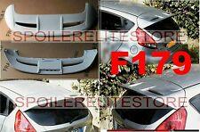 SPOILER ALETTONE FIESTA VII MK7 CON PRIMER  PREDISPOSTO  FARO STOP F179P SS179-5