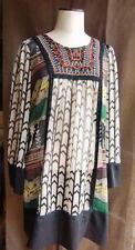 robe tunique voile imprimé Folklo multicolore  LULU-H  38 40- parfait état