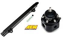 AEM High Volume Fuel Rail & Fuel Pressure Regulator 03-06 Mitsubishi EVO 8 / 9