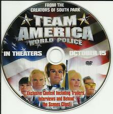 South Park TEAM AMERICA Interview Behind Scene footage PROMO DVD VIDEO USA 2004