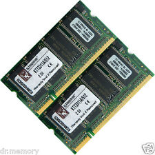 1 GB (2 X 512 MB) ddr-266 PC2100 Notebook (SODIMM) Memory RAM KIT OS a 200 pin