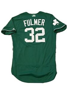 MLB Authenticated - Michael Fulmer St. Patrick's Day Jersey From Detroit Tigers