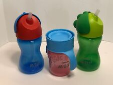 LOT OF 3 Philips AVENT sippy cups