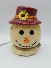 Rare Retired HTF Scentsy Warmer - Scarecrow - 3 Piece Warmer - Autumn Decor