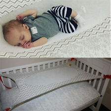 Baby Folding Oxford Cloth Cot Bed Travel Playpen Hammock Holder Crib Portable AC