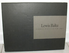 Lewis Baltz Candlestick Point HC Slipcase San Francisco Industrial Wasteland