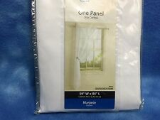 "NEW MAINSTAYS WINDOW PANEL WHITE 59"" W & 84"" L NEW NEW NEW ONLY ONE AVAILABLE"