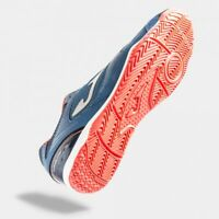 New Joma Indoor Shoes Dribling 905 Navy Fluor Red Soccer Futsal Men 8.5