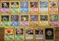Pokemon Team Rocket Rare Cards, Dark Blastoise, Charizard, Dragonite you Choose!