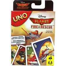 Genuine UNO Disney Planes Fire & Rescue Card Game by Mattel 100