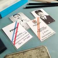 The Pink Panther - Prop Jacques Clouseau Police Detective Wallet ID Card Set