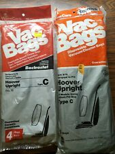 12 # Type C Hoover Upright Vac Bags Vacuum Cleaner Bags  Lot of 2