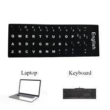 Computer English  Keyboard Film Stickers Letters Alphabet Desktop  Scrub Model d