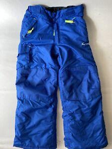 Champion Kids Ski Snow Pants Blue Size XS 4/5 Adjustable