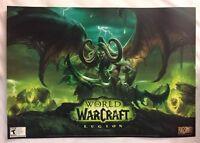 "BlizzCon 2016 Poster 14"" x 20"" Blizzard WoW World of Warcraft Legion Exclusive *"