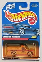 HOT WHEELS RESCUE RANGER DIE-CAST VEHICLE COLLECTOR #1061 MATTEL 1998