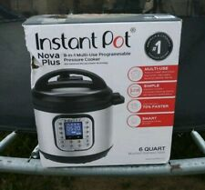 Instant Pot DUO Plus 6 Qt 9 in 1 Multi Use Programmable Pressure Cooker