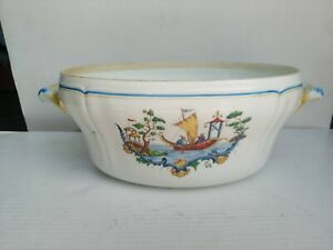 Antica terrina ciotola zuppiera porcellana RICHARD GINORI Chinese China patterns
