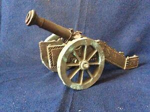 Vintage cast  Bronze Salute Cannon