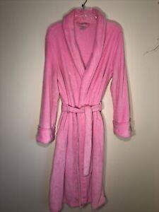 Secret Treasures Women's M Plush Pink Long Robe