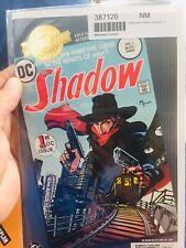 THE SHADOW #1 DC COMICS MILLENIUM EDITION GOLD FOIL LABEL