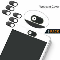 6PCS Webcam Cover Slim Slider Camera Privacy Protect Sticker For Laptop Phone