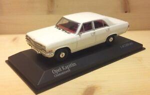 Opel Kapitän weiss 1964 - 1:43