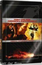 MISSION: IMPOSSIBLE 1-3 TRILOGY (Tom Cruise) 3 DVDs, Steelbook + Filmplakat NEU