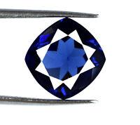 6-8 Carat Blue Tanzanite Gemstone Cushion Cut Natural VS Clarity AGSL Certified