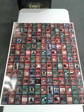 1x  Star Wars BB Limited Dark Side Rare Uncut Sheet Near Mint (possible edge wea