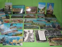 Lot of 35 Vintage State of California Postcards; RPPC Founders Tree