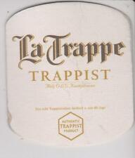 Bierdeckel / Beercoaster / Bierviltje La Trappe Trappist