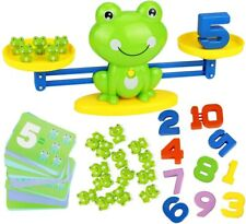 Cool Math Game, Frog Balance Counting Toys for Boys & Girls Educational Number T