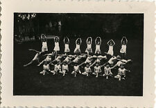 PHOTO ANCIENNE - VINTAGE SNAPSHOT -DANSE DANSEUSE GYMNASTIQUE GYM ENFANT-DANCE 3