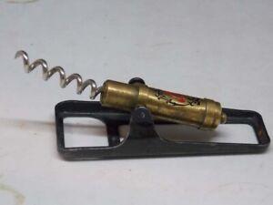 Antique bronze, metal  corkscrew 1950s