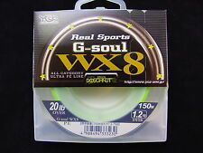 YGK - Real Sports G-SOUL WX8 150m 20lb OVER #1.2